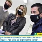 """Leo Nardini supervisó la renovación del Centro de Salud Panamericano de Ing. Pablo Nogués: """"Se trata de dignificar la salud"""""""