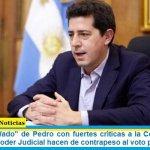 """El ministro """"Wado"""" de Pedro con fuertes críticas a la Corte: """"Algunos sectores del Poder Judicial hacen de contrapeso al voto popular"""""""