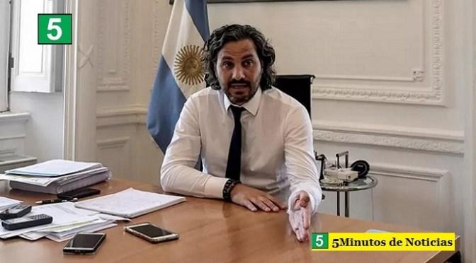 """Santiago Cafiero: """"En agosto vamos a cubrir a la gran mayoría con la segunda dosis"""""""