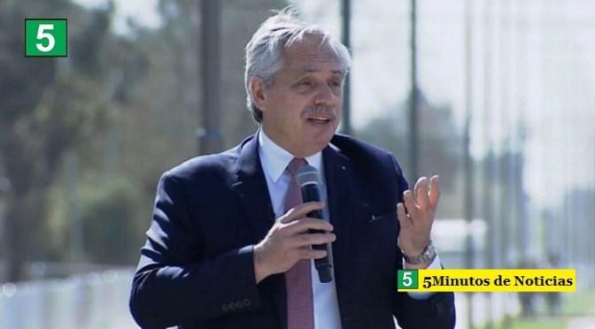 """Presidente Fernández: """"Vamos a golpearle la puerta al vecino que no fue a votar y expliquémosle lo que está en juego"""""""