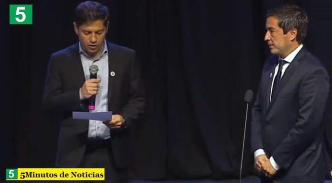 El gobernador Kicillof tomó juramento a los nuevos ministros: Martín Insaurralde, Cristina Álvarez Rodríguez y Leo Nardini