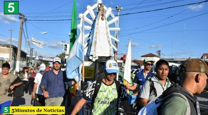 La Municipalidad de Merlo brinda solidaria asistencia a los fieles que participan de la 47° Peregrinación Juvenil a Luján