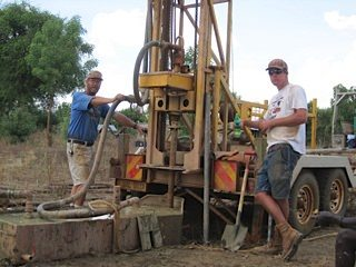 Uganda drilling