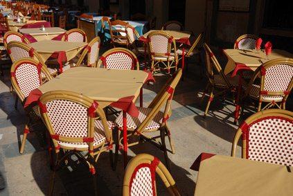 Cafe scene (for English Cafe in Quebec)