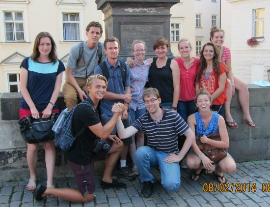 2014 Team Praha - GROUP PHOTO CROPPED - photo from Leah Baugh
