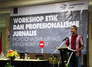 Ketua AJI Semarang Edi Faisol