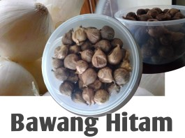 Bawang Hitam Black Garlic