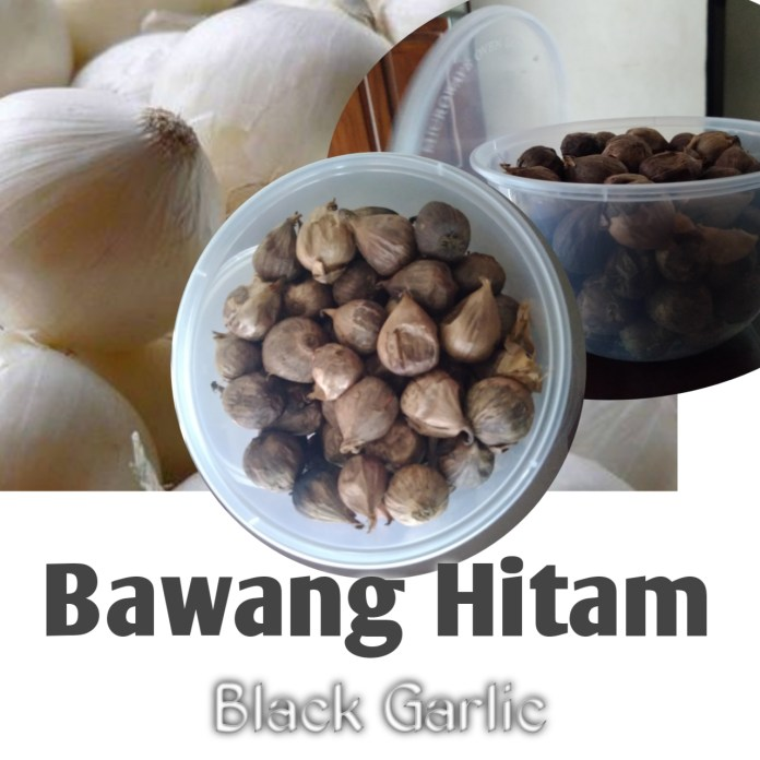 Bawang Hitam Black Garlic