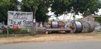 Soal Penolakan SUTET, Pemdes Kedungwinong Siap Kawal Warga di Pengadilan