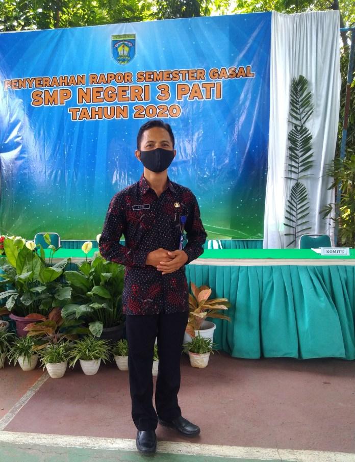 Wakil Kepala Sekolah SMP 3 Pati Suripto