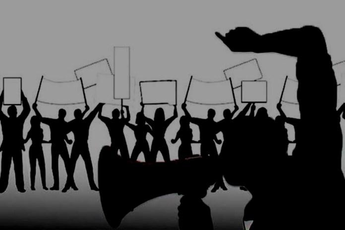 Ricuh Demonstrasi Massa Aksi May Day 2021 di Semarang