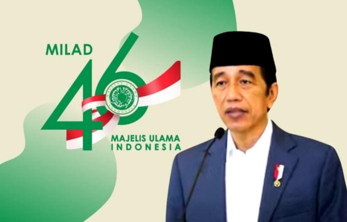 Milad Ke-46 MUI, Jokowi: Wujud Kekuatan Umat Islam Melawan Covid-19