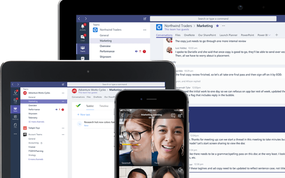 Working with Your Team Remotely with Microsoft Teams and Office 365