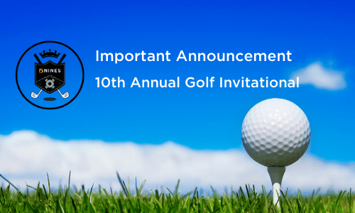 5NINES 10th Annual Golf Invitational is canceled due to COVID-19 pandemic