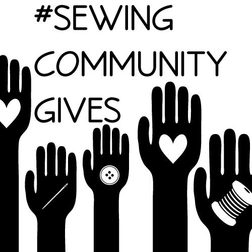 #sewingcommunitygives