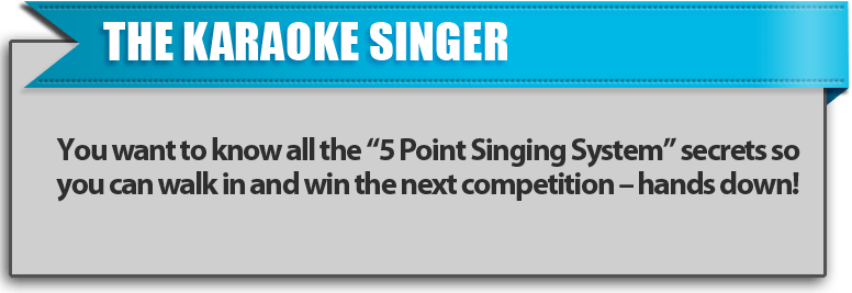 The Karaoke Singer