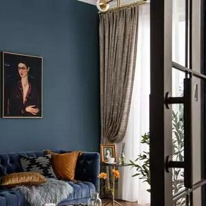 monad luxury fancy design solid drapes