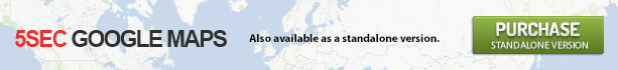 5sec Google Maps standalone version