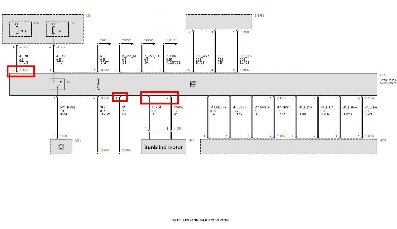 Modern E65 Prefl Sgm Pinout Frieze - Electrical Circuit Diagram ...