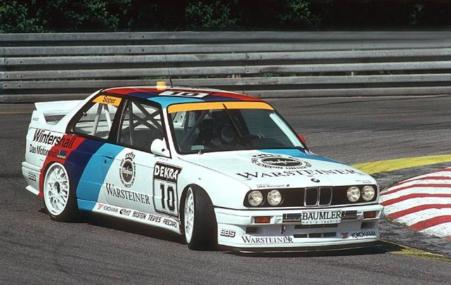 BMW's E30 M3 was a racer first and a road car second.