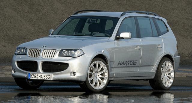 2000s-era Hartge BMW X3.