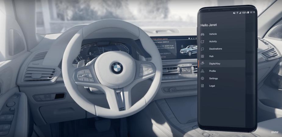 BMW ConnectDrive Digital Key