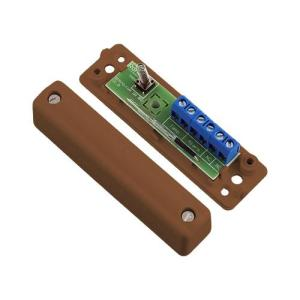 6 Way Alarm Cable Junction Box Brown