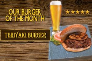 Teriyaki Burger at 5 Star Burgers
