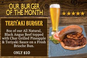 5 star teriyaki burger