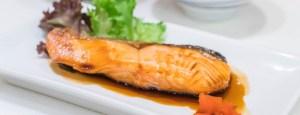 58086818 - salmon teriyaki - japanese food style
