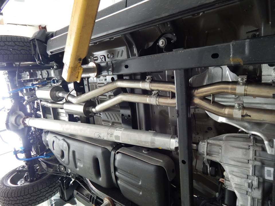 true dual exhaust systems for your f150