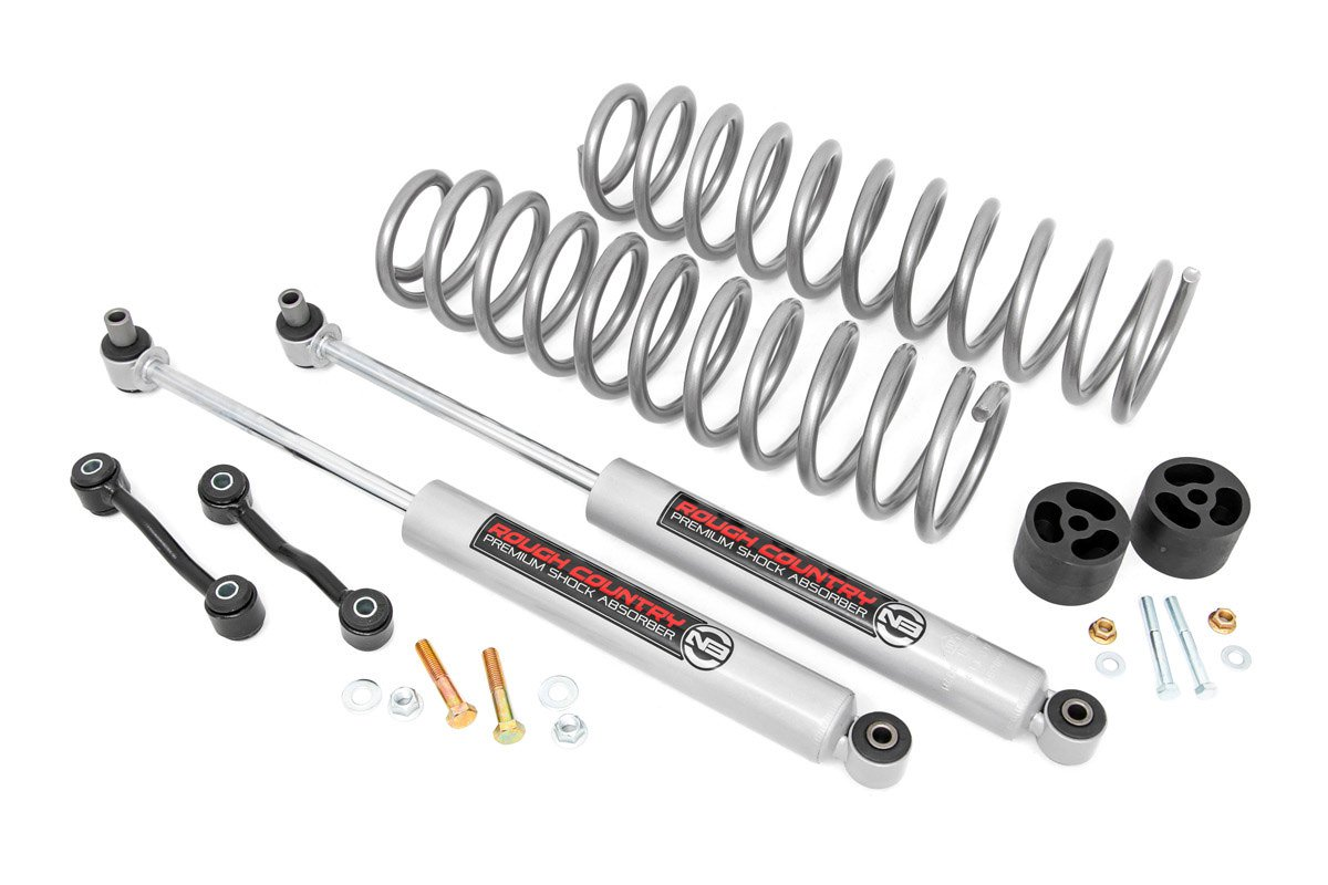 2 5in Jeep Suspension Lift Kit