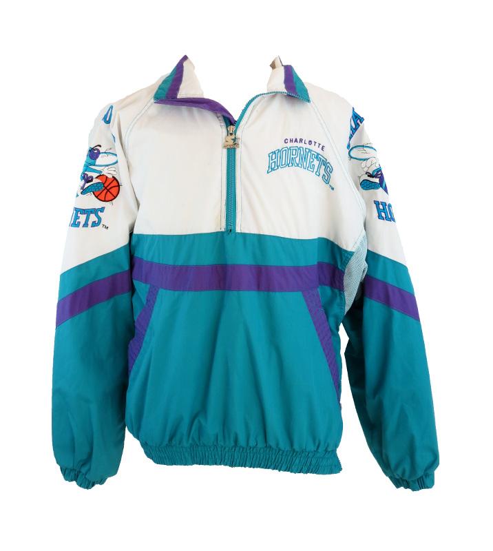 Vintage Charlotte Hornets Starter Jacket 5 Star Vintage