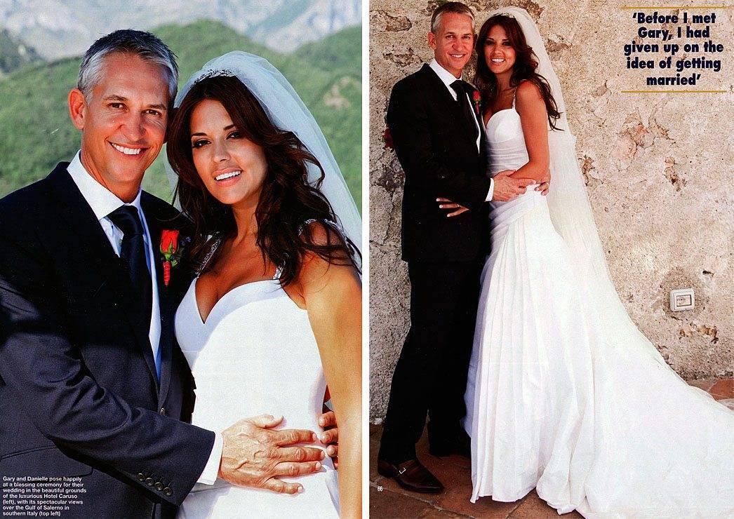 The Secret Wedding of Garry Lineker and Danielle Bux