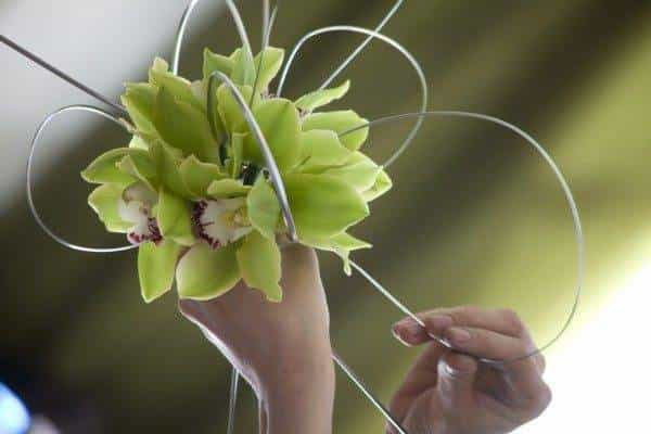 Flower arranging for your hen weekend