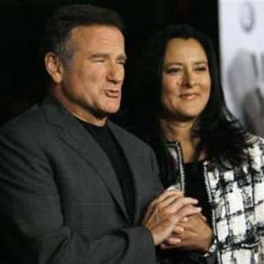 Robin Williams second marriage on the rocks