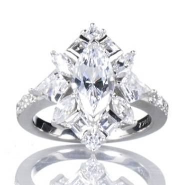 Victoria Beckham's Engagement Ring
