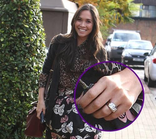 Myleene Klass Wedding Ring Designed By Duffy Jewellery