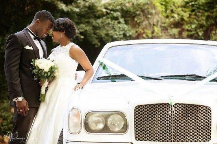 Happy Couple at Simply Kayo Wedding