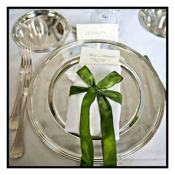 Lake Como Weddings - Place Settings
