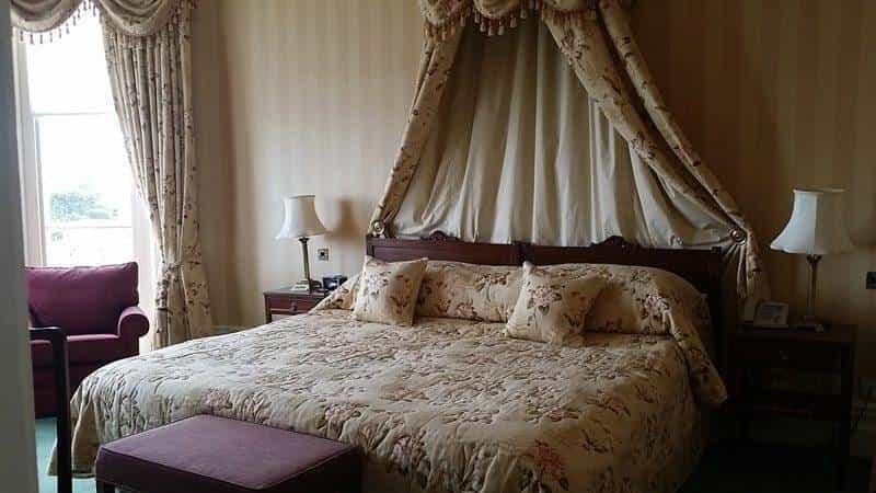Lush bedrooms
