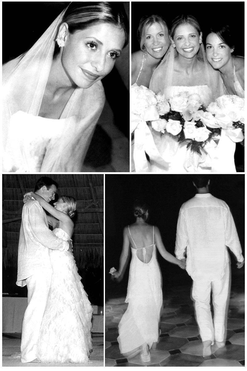 Married on this day… in 2002: Sarah Michelle Gellar and Freddie Prinze Jr.