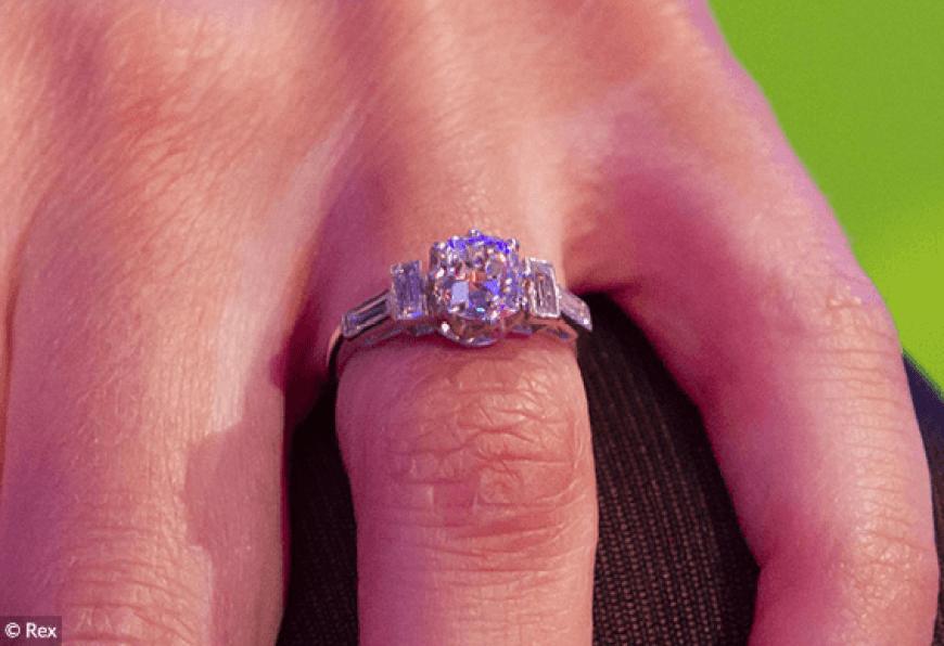 Alex Jones Engagement Ring