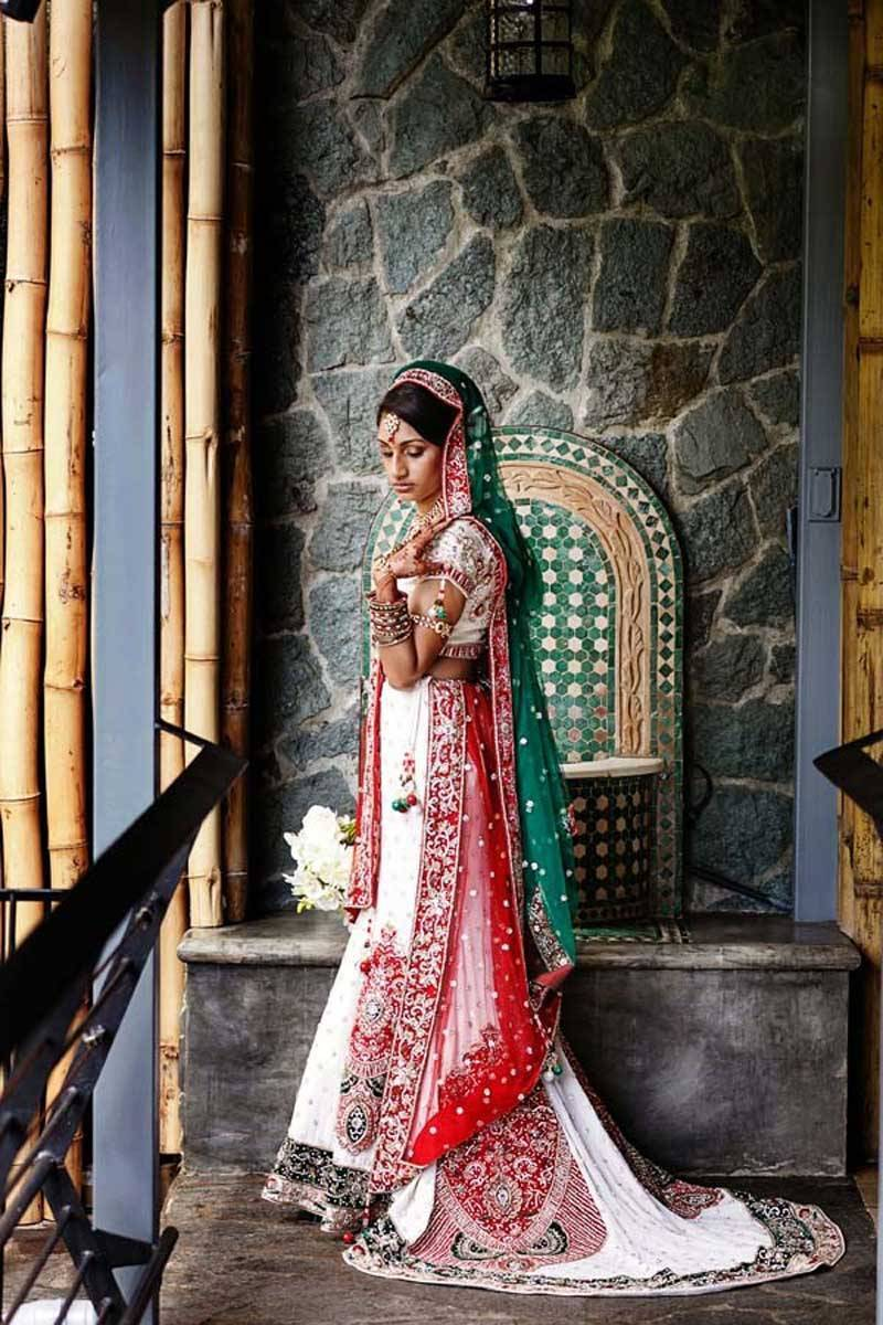 Indian Bride taking a moment
