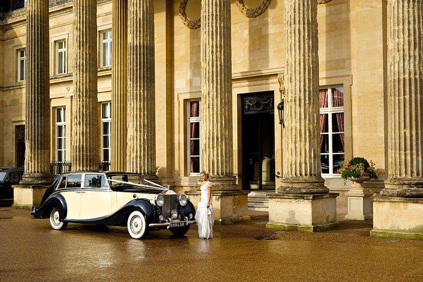 Bride at Mansion House