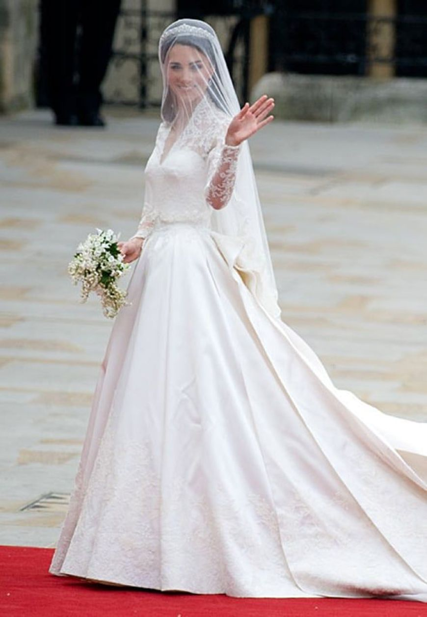 Pippa's sister Kate's royal gown