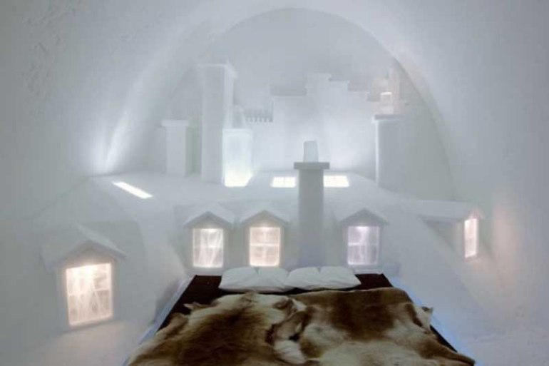Honeymoon At The Ice Hotel Sweden