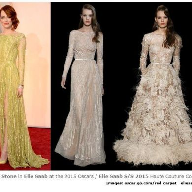 How Did The OSCARS Measure Up To 2015 Bridal Trends?