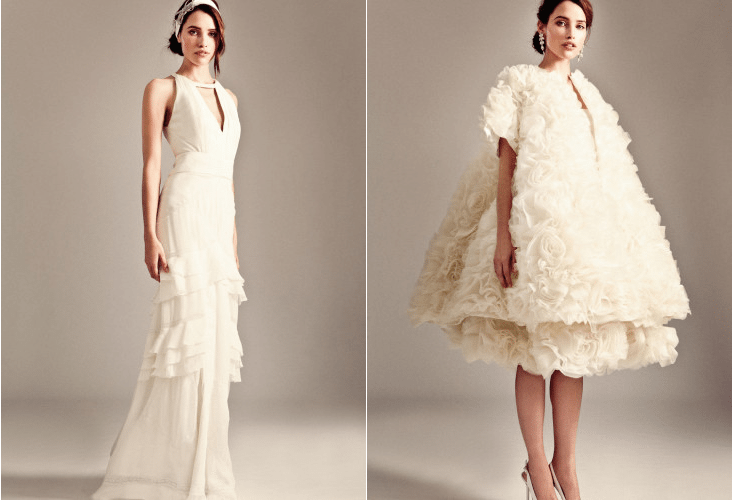 The Temperley Bridal Iris 2014 Collection