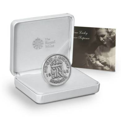 The Royal Mint's Lucky Silver Sixpence